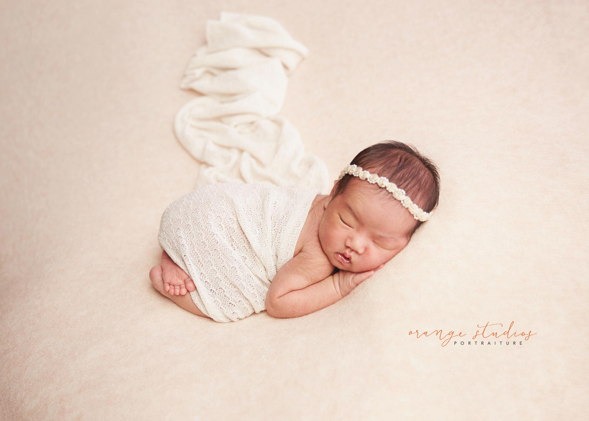 Sweet baby riley newborn photography