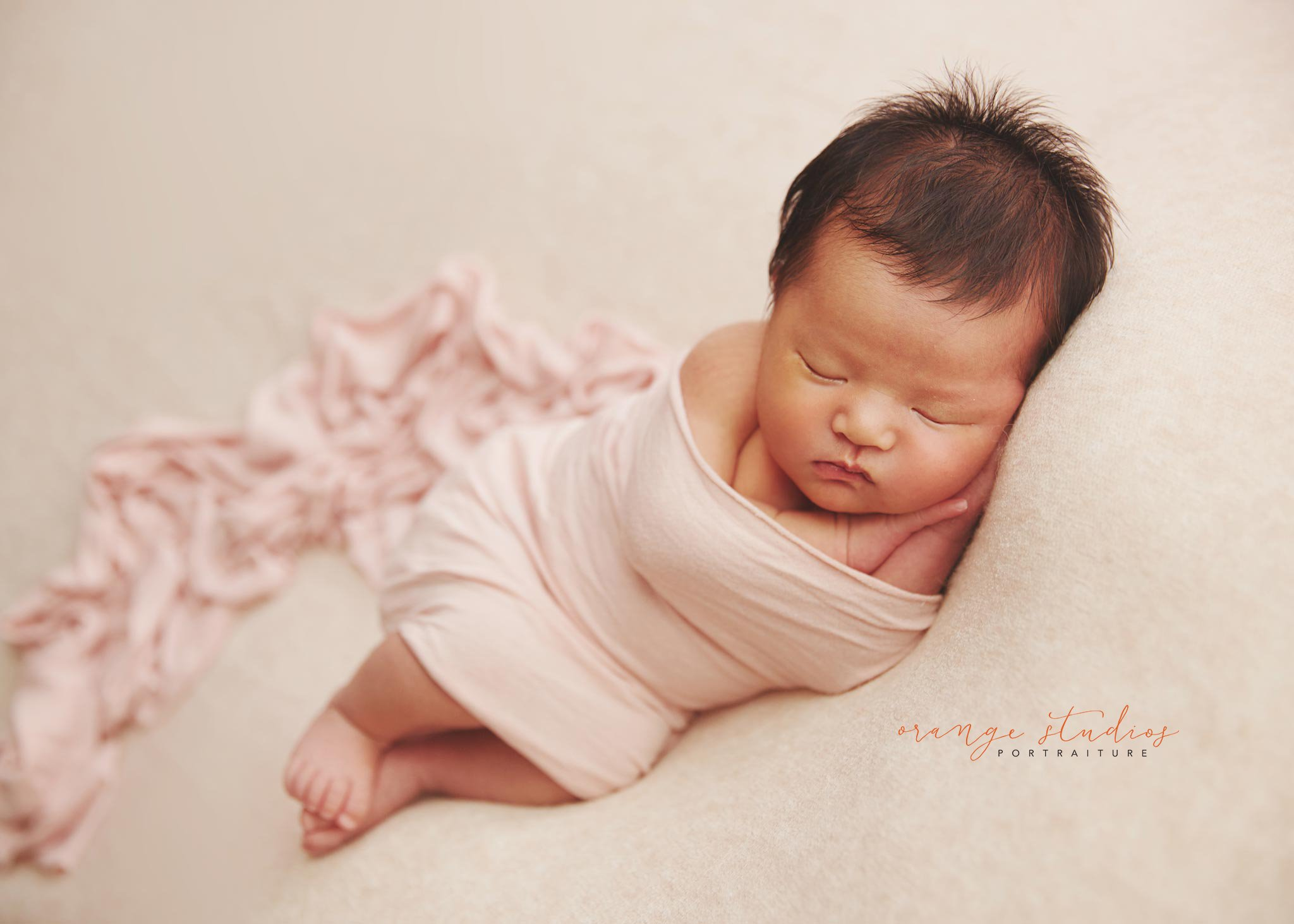 Baby celeste at 13 days young newborn photography