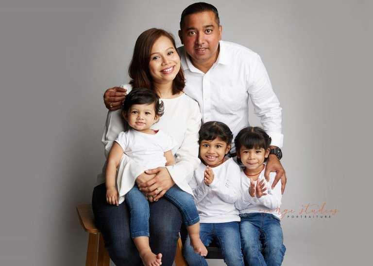 family portraits in singapore studio